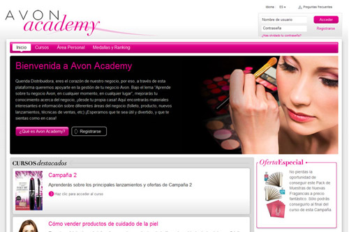 Avon Cosmetics - Actua Solutions